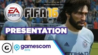 FIFA 16 Stage Show - Gamescom 2015