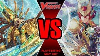 Garmore Vs Gurguit - Cardfight Vanguard Playtesting Match May 2017