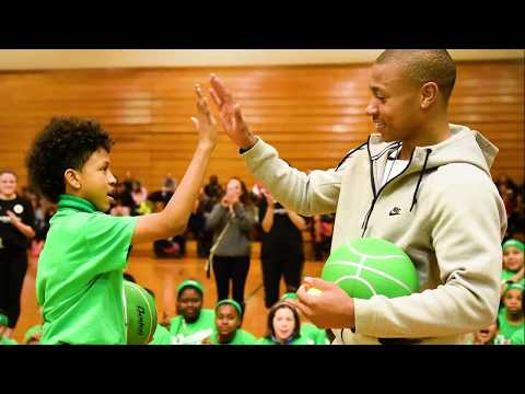 Isaiah Thomas Wins the 2017 NBA Community Assist Award | NBA on TNT