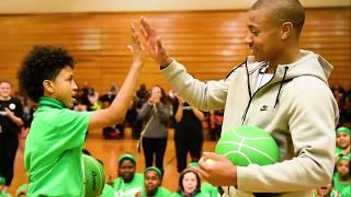 Isaiah Thomas Wins the 2017 NBA Community Assist Award | NBA on TNT