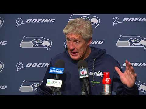 Seahawks Head Coach Pete Carroll vs 49ers Postgame Press Conference