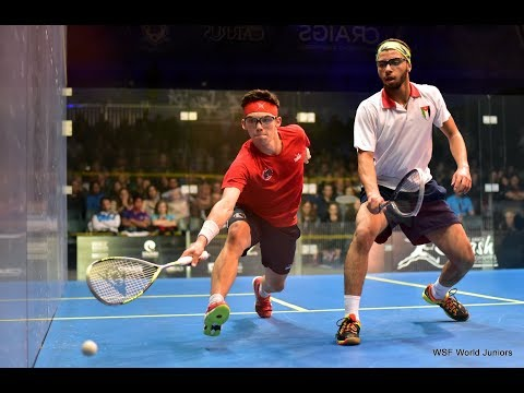 Juillet 2017 - Chpt du Monde Junior Tauranga - 1/2 Finale - Victor Crouin 3/1 Mohammad Al Sarraj