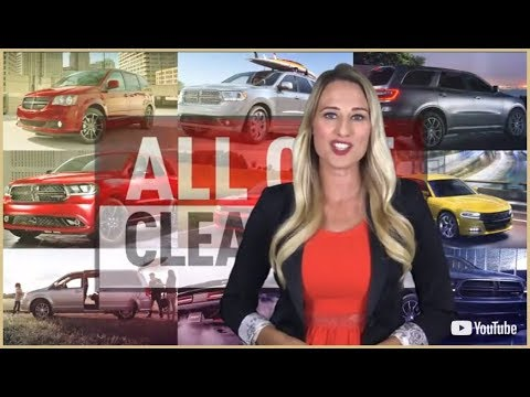 Moncton Chrysler Dodge Jeep RAM All Out Clearout Promotions