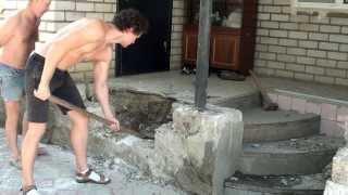 видео Отделка входа в частный жилой дом