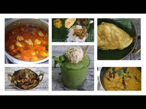 Sunday Lunch Routine   முட்டை கலக்கி   Mysore மட்டன்   Mint Slush   மாம்பழ க்கூட்டு   நாட்டு கோழி