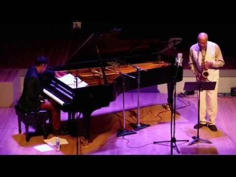 Oliver Lake & Vijay Iyer - at Roulette, Brooklyn - October 1 2013