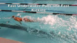 Slow Motion Faster Swimming for Beginners
