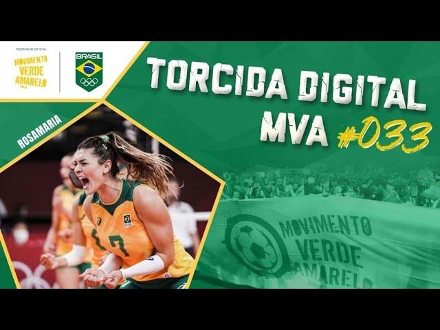 Torcida Digital MVA #033 - Tóquio 2020 - Vôlei Feminino: Brasil X Coreia do Sul, semifinal