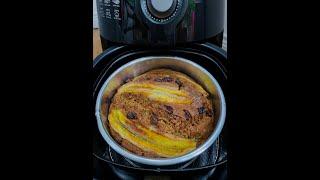 Làm Bánh Chuối Nướng Bằng Nồi Chiên Không Dầu Siêu Dễ - Banana Cake
