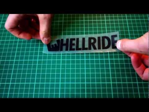 Как легко и просто клеить виниловые наклейки