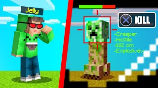 We CRAFTED HACKER GLASSES In MINECRAFT! (Futuristic)