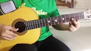Ampar Ampar Pisang - Lagu Daerah Kalimantan Selatan | Tutorial Gitar Fingerstyle Cover Untuk Pemula