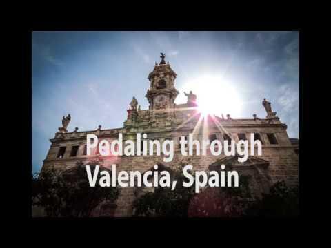 Pedaling through Valencia,Spain!!!