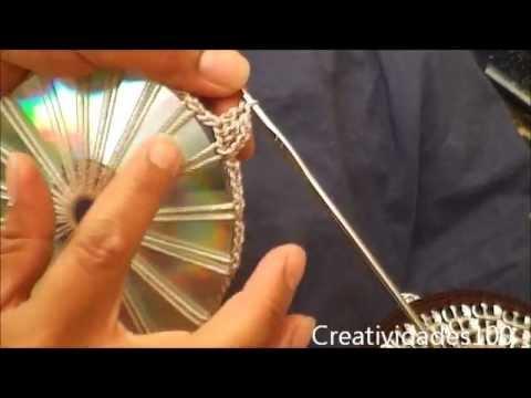 Como hacer un bolso con fichas tutorial: Bolso con CD y anillas ...