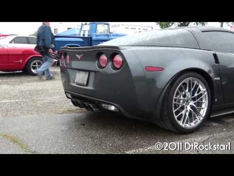 Corvette ZR1 angry sound