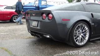 Corvette ZR1 angry sound