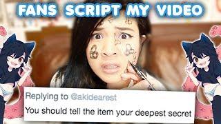 FANS SCRIPT MY VIDEO CHALLENGE