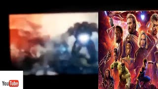 Avengers 4 End Game Cine Europe Leaked Footage |first 5 minutes of avengers end game