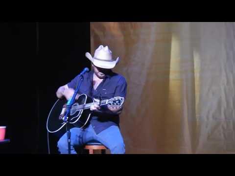 Jason Aldean Night Train Acoustic KNIX Superstar Secret Show 8/11/16