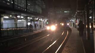 [列車発車]キハ85系特急ひだ富山駅旧4番ホーム