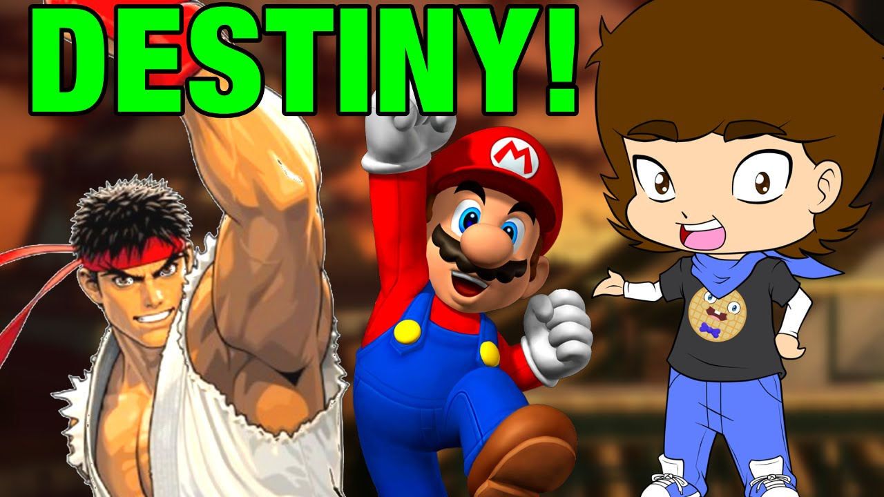 Download Super Smash Bros. Theory: Mario Is Ryu's DESTINY?! - ConnerTheWaffle