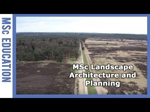 Master's Landscape Architecture and Planning   WURtube