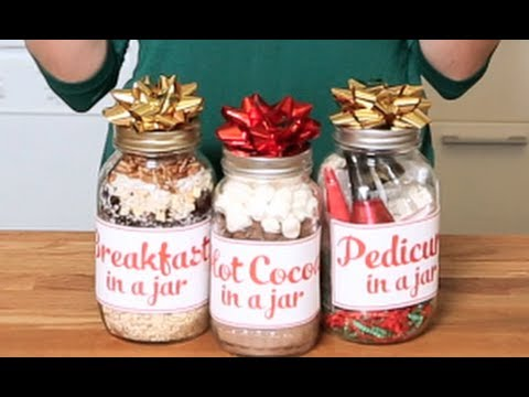 The Domestic Geek: Gift In A Jar Ideas!