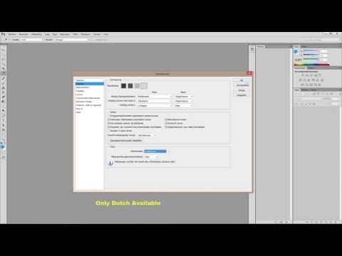 Adobe Photoshop CS6 - Change language to...