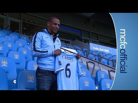 FERNANDO SIGNS: Manchester City sign Porto midfielder
