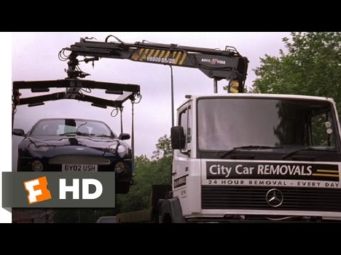 Johnny English (4/10) Movie CLIP - Tow Truck Chase (2003) HD Mp3