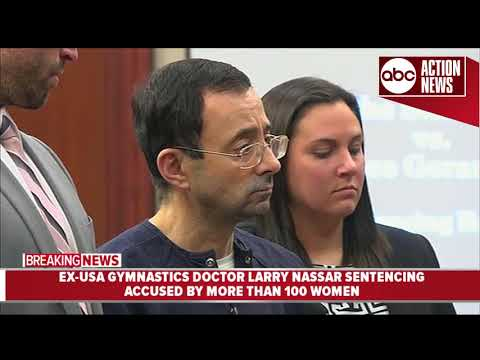 Larry Nassar, former USA Gymnastics doctor sentenced to 40 to 175 years in prison