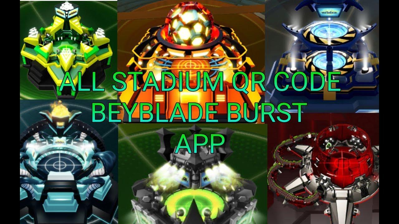 Beyblade Burst All Qr Codes
