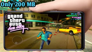 How To Download GTA Vice City Lite Only 200 MB Highly Compressed For All GPU
