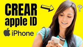 Como Crear un ID de Apple Super Fácil   Crear Apple ID (Iphone 8,7,6) Sin Tarjeta de Credito