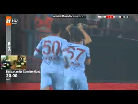 Trabzonspor 9-0 Manisaspor | Gol Soner | Ziraat Türkiye Kupası 25 Aralık 2014