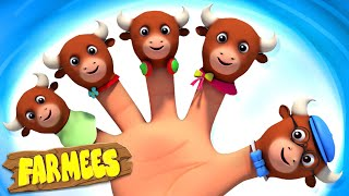 Animals Finger Family | nursery rhymes and kids songs for toddlers by farmees