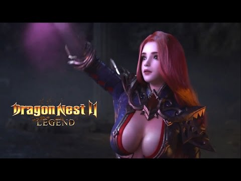 Dragon Nest 2 Legend - Official CGI Gameplay Trailer New Mobile Game 2017