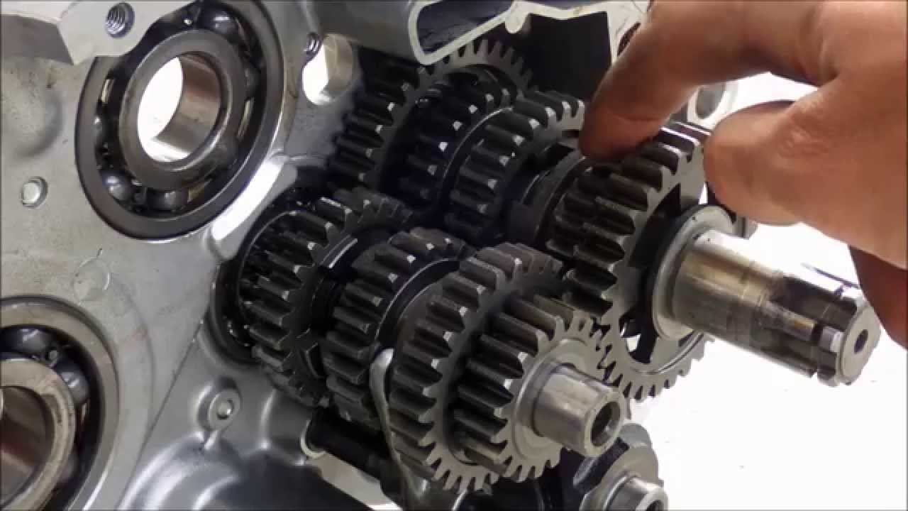 How A Motorcycle Transmission Works Youtube