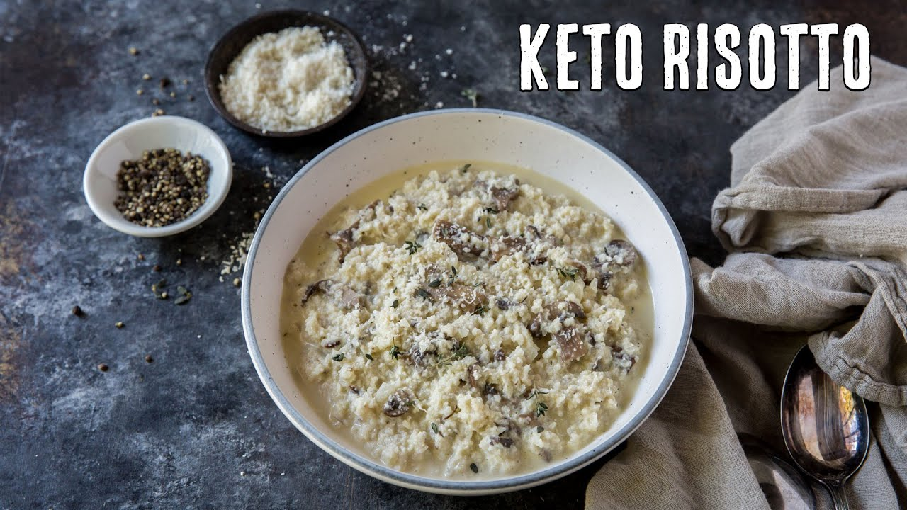 Cheesy Keto Cauliflower Risotto Fancy Dinner Made Easy