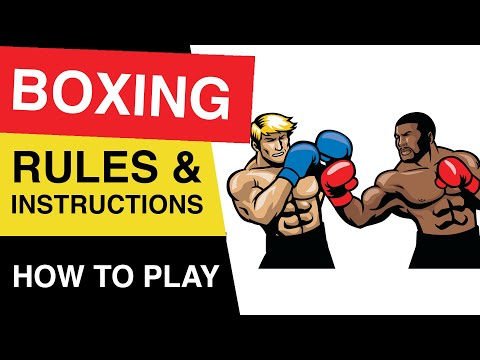 🥊 Rules Of Boxing 🥊 : Boxing Rules For Beginners : Boxing