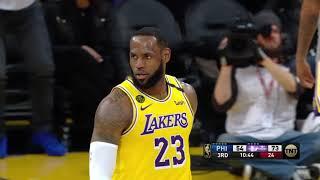 Los Angeles Lakers vs Philadelphia 76ers | March 3, 2020
