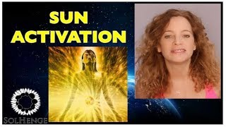 ACTIVATE YOUR ENERGY CENTERS WITH SUN FREQUENCY (meditation to make you powerful and healthy)