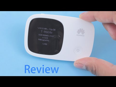 Huawei E5336 Mobile Wifi Router Review | and Setup - YouTube
