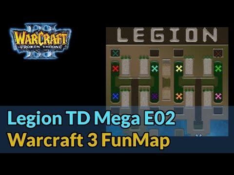 Legion TD Mega E02 - Warcraft 3 Funmaps - Let's Play [Deutsch]