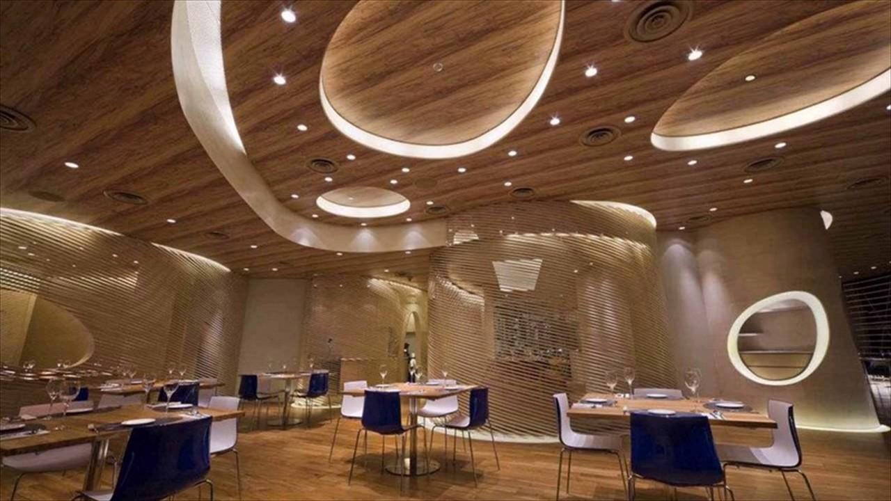 Restaurant Interior Design - YouTube