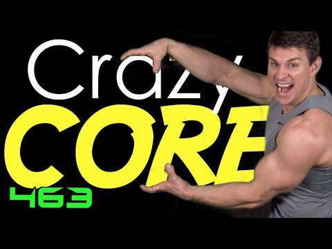 Crazy Core Workout With 46 Different Bodyweight Abs Moves