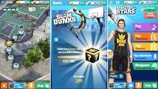 Basketball Stars Career and Dunk Mode!