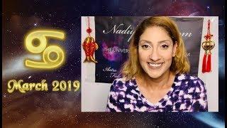♋ Cancer March 2019 Astrology Horoscope by Nadiya Shah
