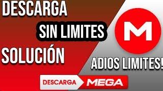 QUITAR LIMITE DE MEGA [2019] SOLUCIÓN | FUNCIONANDO 10 DE MAYO (ACTUALIZADO) | METODO DEFINITIVO💥💥