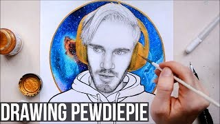 DRAWING PEWDIEPIE - FAN ART